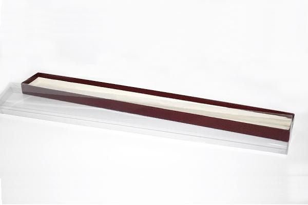 Scatola per Pasticceria con coperchio in PVC, 50x3x2